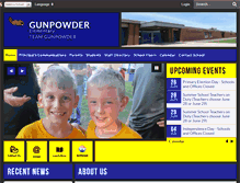 Tablet Preview of gunpowderes.bcps.org